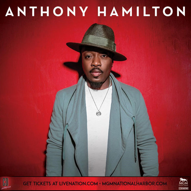 ANTHONY HAMILTON - The Theater at MGM Grand - Friday November 19, 2021 - 8:00pm