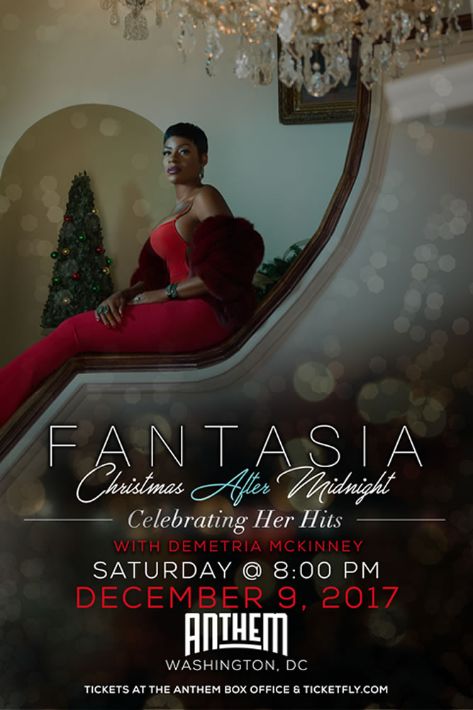 FANTASIA - Performing Live at The ANTHEM with special guest MALI MUSIC - Saturday, December 9th, 8:00pm